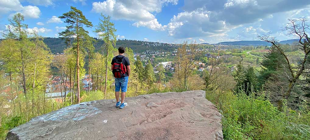 Der Schwarzwald Genießerpfad bei Calw ist eine schöne Wanderung in Baden-Württemberg