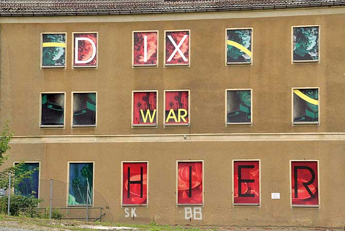 Otto Dix war in Gera