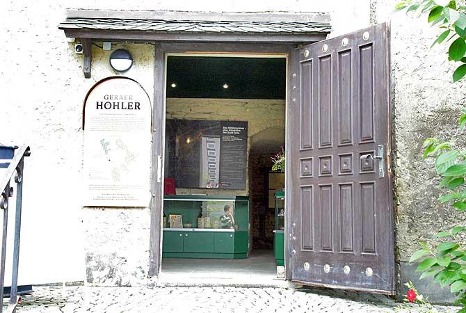 Eingang Geraer Höhler