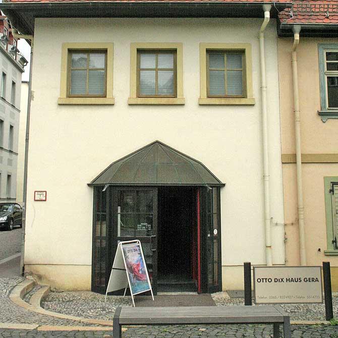 Das Otto Dix Haus ist eine der top Sehenswürdigkeiten in Gera