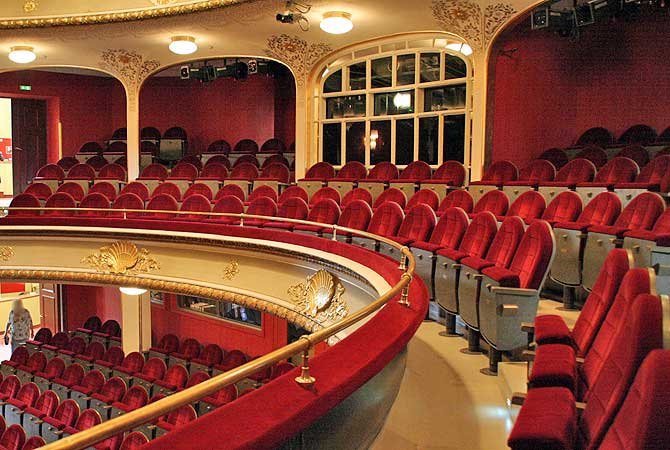 Gera Theater Saal Plan