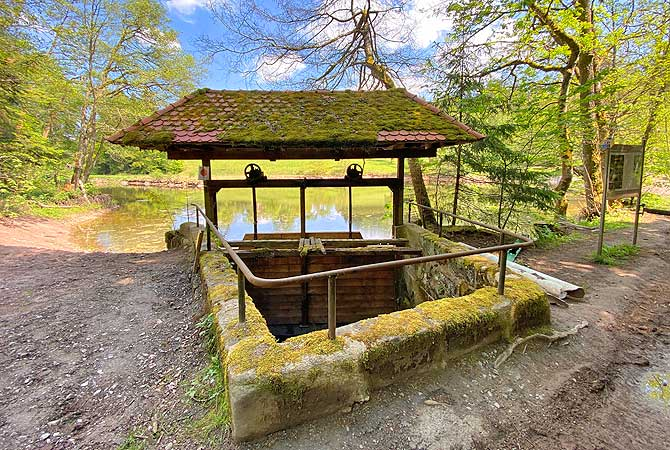 Brandhofer Ölmühle Brunnen