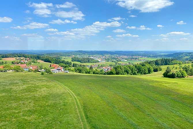 Ausblick vom Hagbergturm