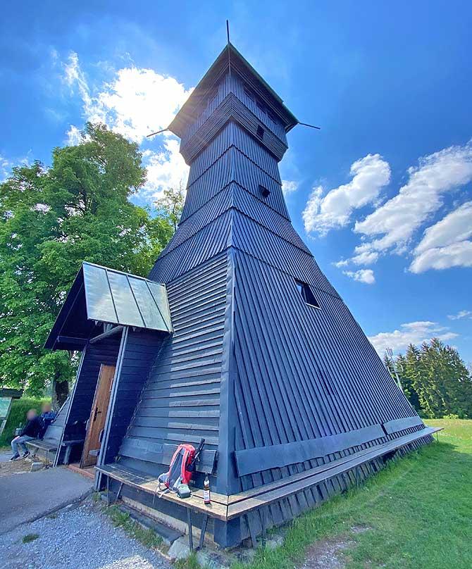 Hagbergturm auf dem Hagberg