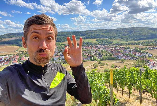 Dein Deutschland Reiseblog bei der Wanderung zum Wachtkopf bei Gündelbach