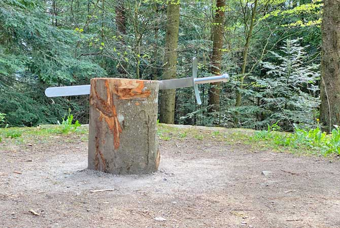Schafott im Schwarzwald