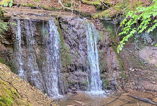Wasserfall am Glaitenbach