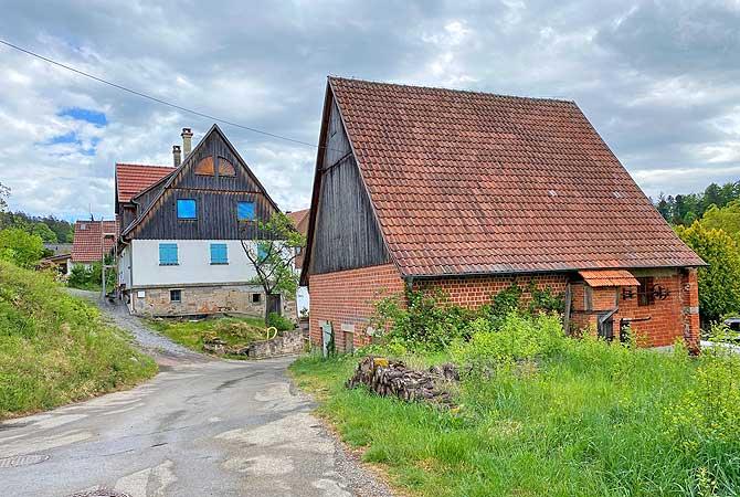 Schlichenweiler am Schwäbischen Wald