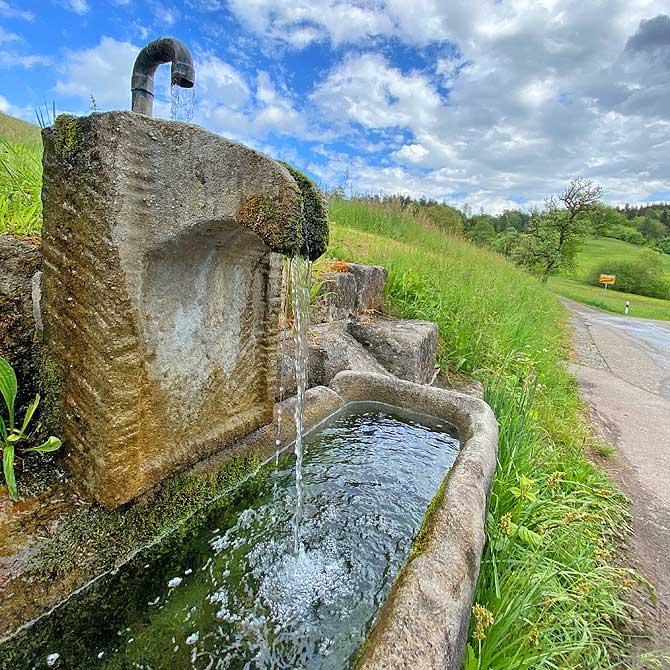 Brunnen in Schlichenweiler