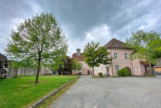 Innenhof Burg Ebersberg