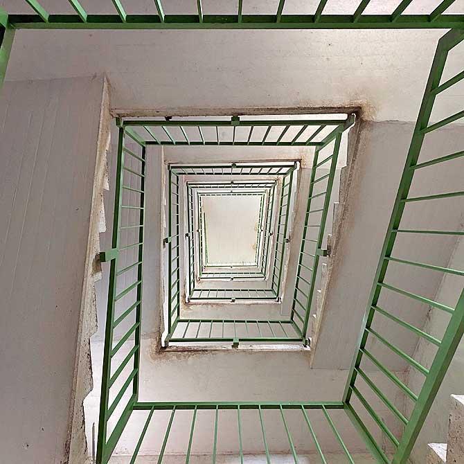 Eine Treppe, viele Stufen
