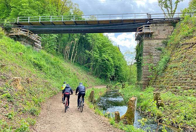 Brücke im Buchenbachtal