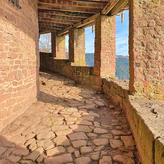 Burg Liebenzell Stufen
