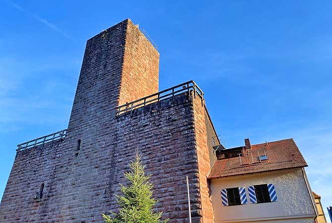 Burg Liebenzell Bergfried