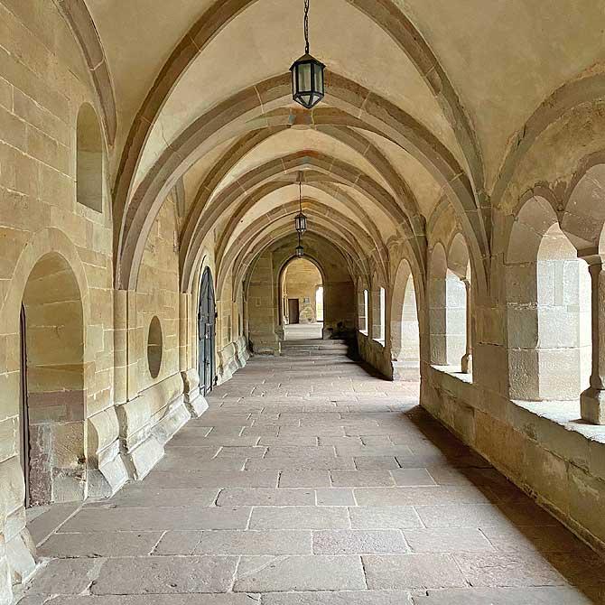 Kloster Maulbronn Gang