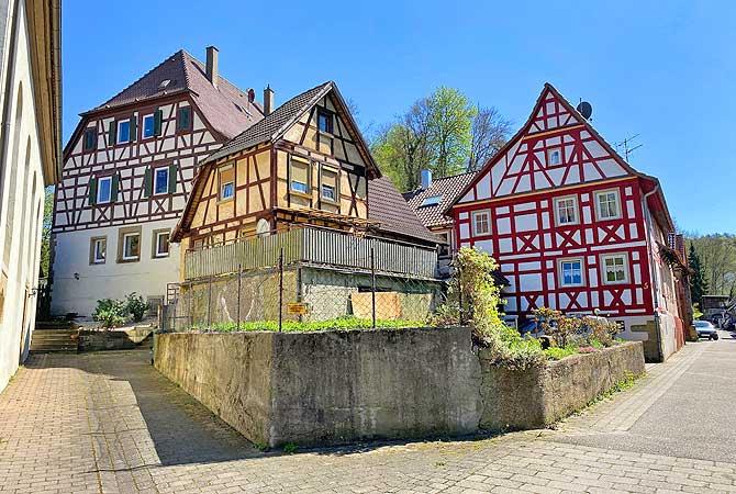 Freudenstein Fachwerk Häuser