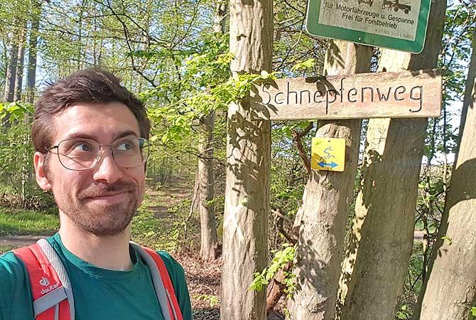 Dein Deutschland Reiseblog auf dem Schnepfenweg Richtung Freudenstein ab Maulbronn