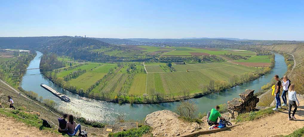 Die Hessigheimer Felsengärten sind mit die top Ausflugsziele in Baden-Württemberg