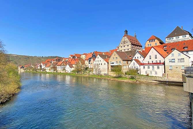Besigheim Neckar Ufer