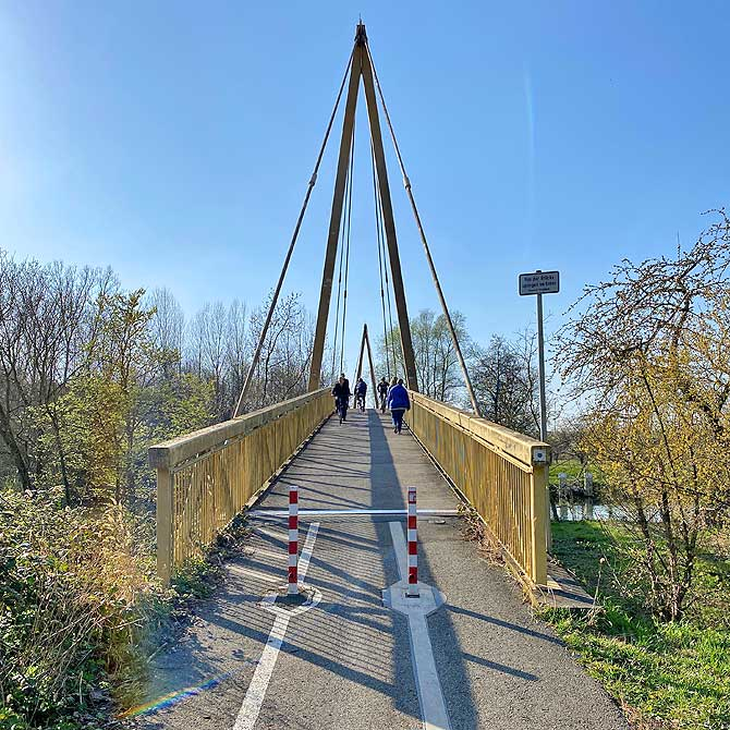 Hessigheimer Fahrradbrücke