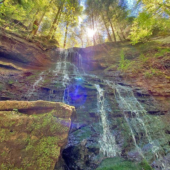 Hinterer Hörschbach Wasserfall