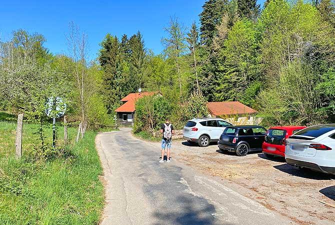 Wanderparkplatz zur Hörschbachschlucht