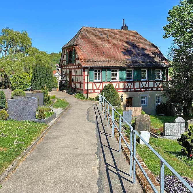 Kirche und Kloster Anlage in Murrhardt