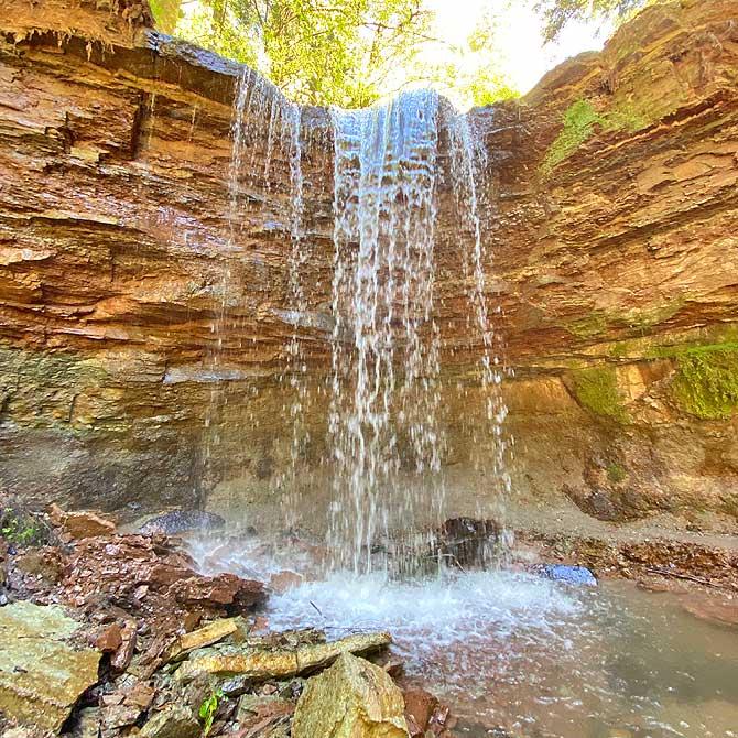 Vorderer Hörschbach-Wasserfall