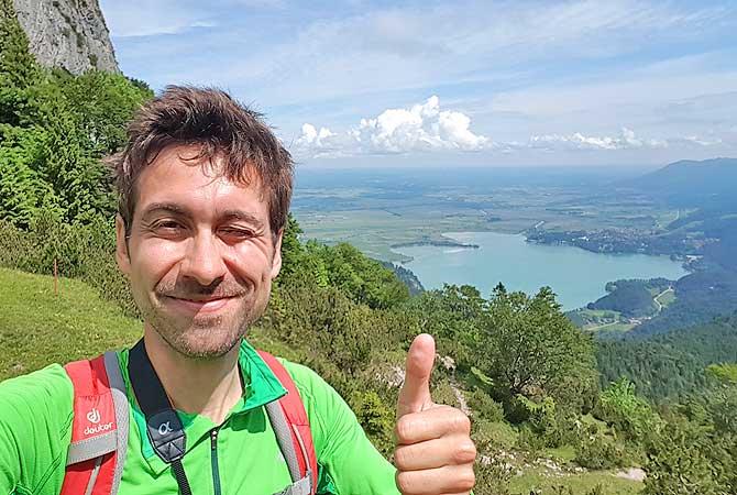 Dein Deutschland Reiseblog auf der Wanderung hoch auf den Herzogstand