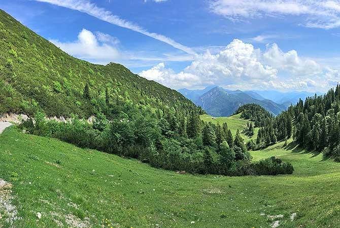Traumhaft schöne Landschaft