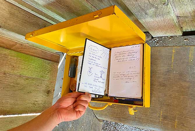 Wanderbuch am Hohberg