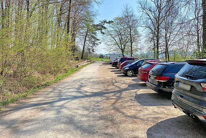 Wanderparkplatz Weitmars