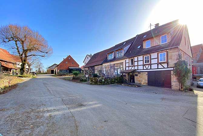 Großhöchberg ist ein Ortsteil von Spiegelberg