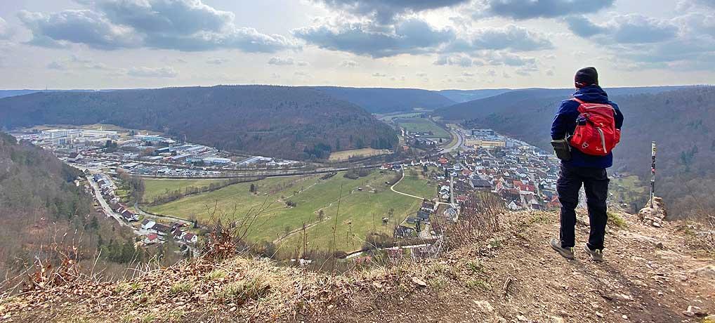 Der Blaubeurer Felsenstieg ist ein top Wander-Ausflugsziel in Baden Württemberg
