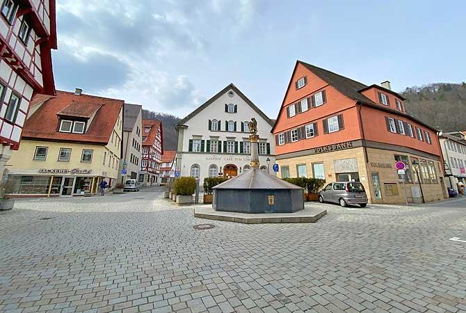 Marktplatz Blaubeuren