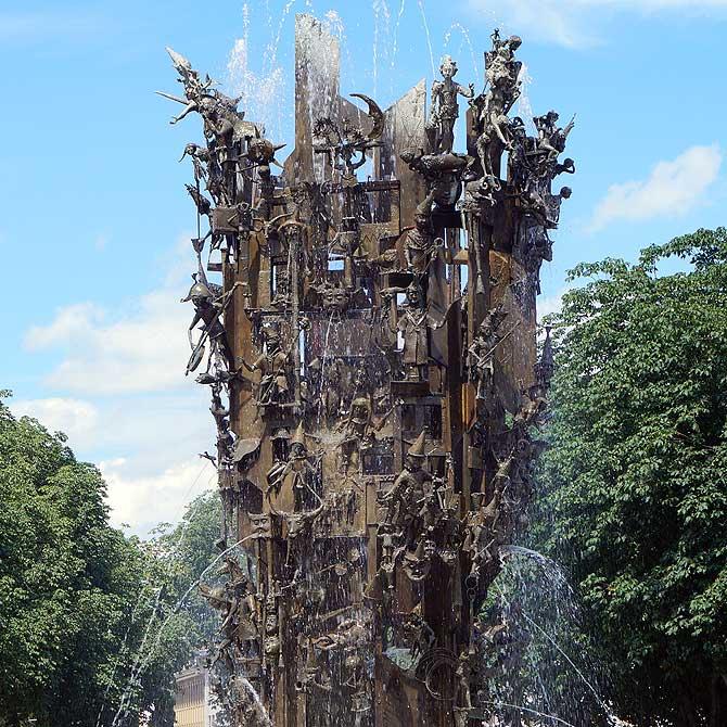 Fasnachtsbrunnen Mainz