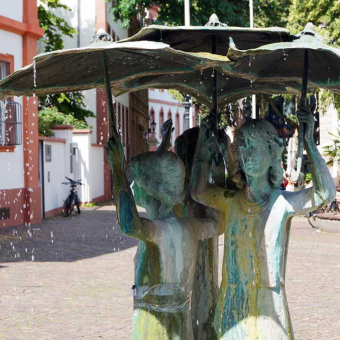Mädchenbrunnen Mainz