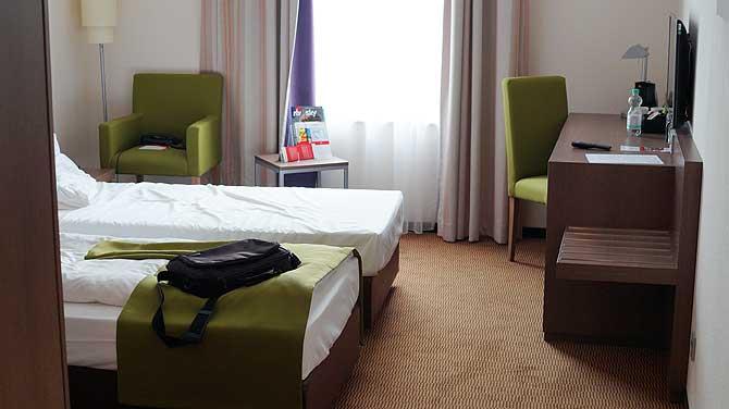 Intercity Hotel Mainz Zimmer