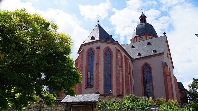 Wegen Marc Chagall ist die Stephanskirche eine der top Sehenswürdigkeiten in Mainz