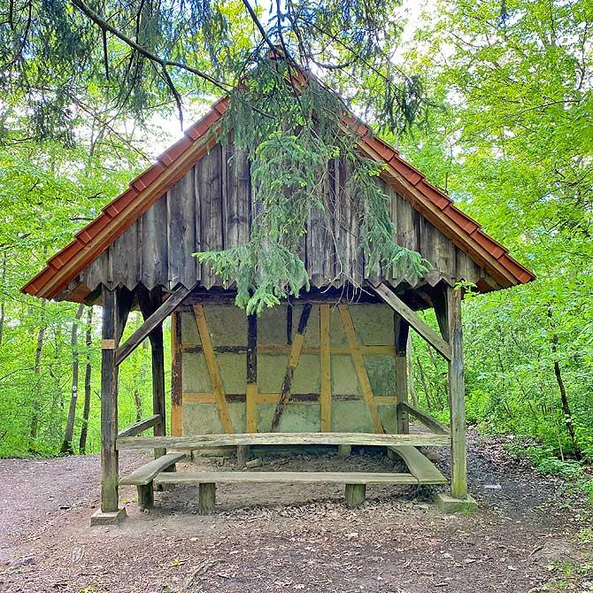 Stirners Jagdhütte an der Schönbuch-Kante