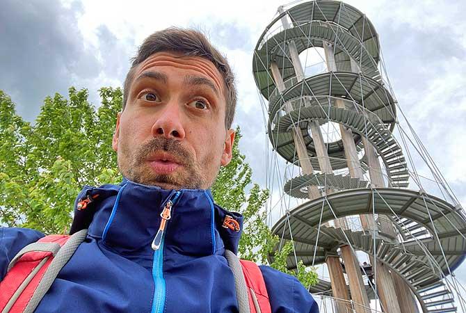 Dein Deutschland Reiseblog am Schönbuchturm an der Schönbuch-Kante
