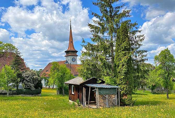 Kirche in Holzbronn