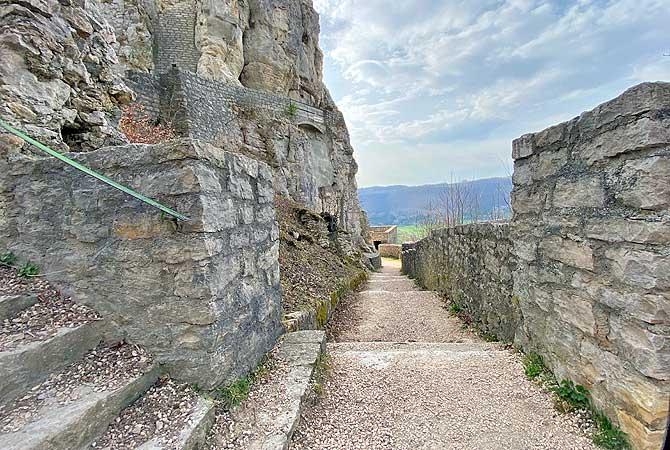 Beeindruckende Burganlage