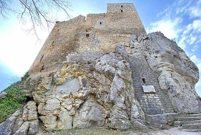 Burgruine Reußenstein Eingang